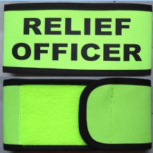 Customised Wrap Armband - Relief Officer
